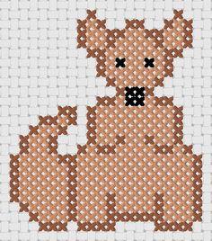 Kangaroo - Cross Stitch Pattern