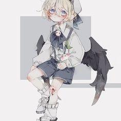 Pin on Anime / Manga / Art Anime Child, Anime Art Girl, Anime Boys, Manga Art, Gato Anime, Anime W, Cute Anime Character, Character Art, Kawaii Drawings
