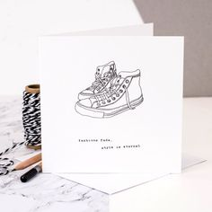 Fashions Fade Style Is Eternal Card Birthday by CoulsonMacleod