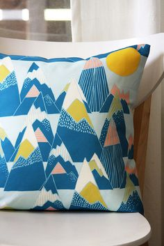 leah duncan's very beautiful pillow covers from her freshly chopped blog. Check out her work at leahduncan.etsy.com