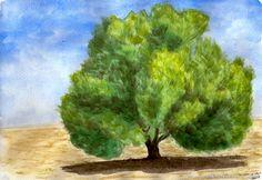 Painting, Art, Gardens, Watercolor Painting, Drawings, Art Background, Painting Art, Kunst, Paintings