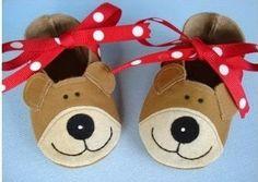 Pantuflas para niños -Moldes para imprimir   Solountip.com