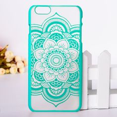 Beautiful floral henna paisley mandala palace flower phone case for iphone 6 Cute Cases, Cute Phone Cases, Diy Phone Case, Iphone Cases, Video Vintage, Phone Accesories, Paisley, Palace, Coque Iphone