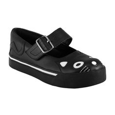TUK Kitty Mary Jane Sneaker Creeper Shoes UK 3-9