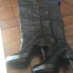 Fitzgerald Report Signature over the knee boots Used just like in pics Report Signature Shoes Over the Knee Boots