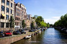 Amsterdam canals. Travel, explore & experience. Photo by Lashan Ranasinghe. #LiveLaughExplore