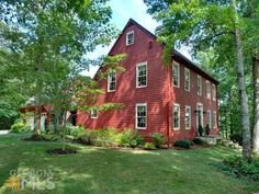 ;My dream home = red saltbox house!!!