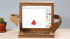 Tinkercad is a free, easy-to-use app for design, electronics, and coding. Lego For Adults, Fabric Crafts, Diy Crafts, 3d Printing Diy, 3d Printer Designs, Impression 3d, Science Activities, 3d Design, Arduino
