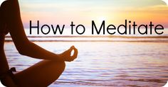 "Stress & Burnout Prevention: How to Meditate  Meditation can be really difficult for many people.  While the fact of the matter is, simply put, that there is no ""proper"" way to mediate, below are some simple steps that may help you. #meditation #stress_prevention #burnout_prevention meditation_tips #business_doctors"
