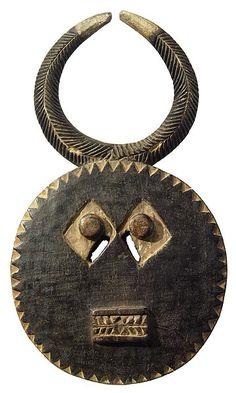 Baule Goli Mask (Kplekple Mask) 43, Ivory Coast