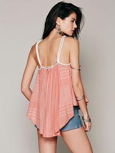 Free People Work Wearin It Tank at Free People Clothing Boutique