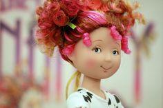 Fancy Nancy hair