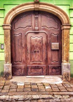 Bratislava, Slovakia creating exquisite door hardware is our specialty >… Cool Doors, Unique Doors, Portal, Front Doors, Windows And Doors, Art And Architecture, Architecture Details, All About Doors, Bratislava Slovakia