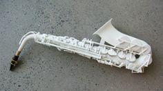 ONE: Así suena un saxofón impreso en 3D