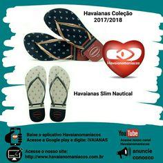CHINELO HAVAIANAS SLIM NAUTICAL Havaianas Coleção 2018.  Amoda fashionganha mais um item para deixa o seulook do diamais estiloso e alegre.  SAIBA MAIS E VEJA MAIS FOTOS ACESSANDO NOSSO SITE Basta clicar no link na descrição do nosso perfil e acessar nosso blog.   #havaianas #havaiana #havaina #chinelodededo #flipflop #flipflops #havaianasmania #havaianomaniacos #amohavaianas #chinelos #havaianasday #ilovehavaianas #apaixonadosporhavaianas #pés #feet #chinelo  #lookcomhavaianas…