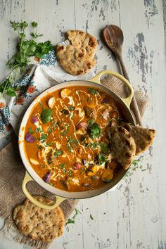 Indian Lamb Stew with Tomato Tandoori Sauce by Country Cleaver