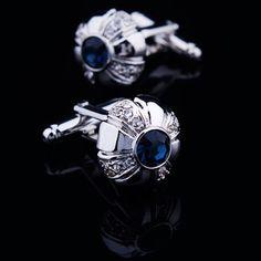 Gemelli Camicia Lusso diamante di cristallo : Cheap Gemelli Moda uomo