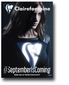 Campaña de Clairefontaine para la vuelta al cole (rentrée) del 2015. Realizado por los estudiantes de cine de l'École de la Cité Paris.
