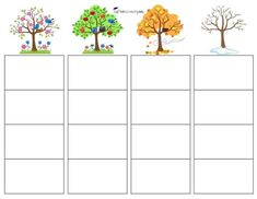 Classroom, Plants, File Folders, Sorting, School Themes, Seasons Of The Year, Parking Lot, Games, Libros