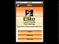 Palm Springs' Elite Land Tours Mobile App by Apps111