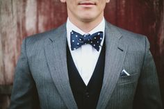 Groom attire. Joseph A Banks. Polka dot bowtie. Fun and unique wedding photography. Nashville wedding photography. Vintage wedding. Two Rivers Mansion. Historic wedding venues. Small intimate wedding.