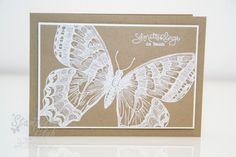 Stampin Up Sale-a-bration Frühlingsgefühle bloomIn' marvelous Swallowtail Embossing _