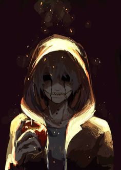 """""""Happy freaking birthday."""" Jack smirked as he held the kidney in his hand. """"I love the party favors....it's so tasty."""" He chuckles as he tilts his head to the side a bit. He couldn't help but to embrace the insanity."""