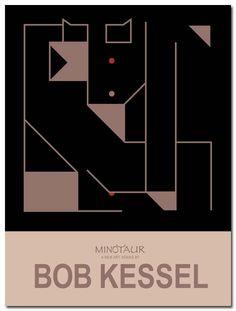 MINOTAUR (Redeye) POSTER BY BOBKESSEL