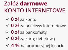 Darmowe konto internetowe w ramach promocji Comperia Bonus