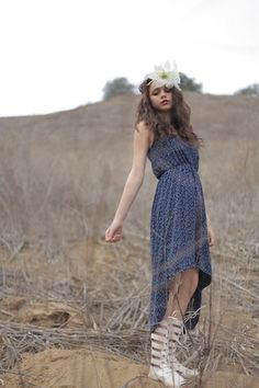 Little House on the Prairie Dress | Stylebiter Fairy Photography by Josie Tan, and model: Mandi Moxie