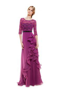 1140084 (Vestido de Madrina). Diseñador: Sonia Peña. ...