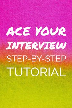 Get ready to rock your next job interview.