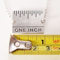 one inch. the difference between winning and losing. Necklace #rowing