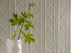 Cane Lincrusta by Lincrusta  £139.99    The ultimate wallcovering - deeply textured, flat backed and extremely tough - ideal for busy hallways and below the dado rail where knocks and bumps are commonplace. Please ask for export carriage.  Code  RD 1902  Width 0.533m  Length 10m