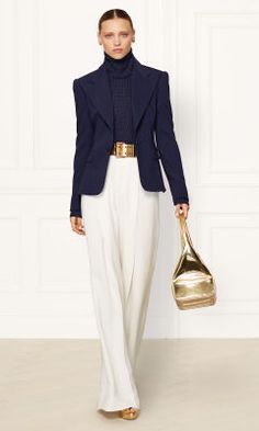 Stretch-Wool Kristina Jacket - Collection Apparel Jackets - RalphLauren.com