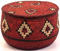 tons of beautiful African baskets
