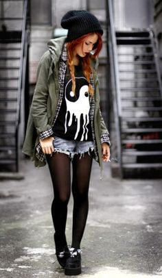 That indie fashion, punk or whatever it's all the same thang c: