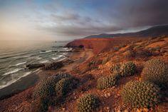 #лезгина #марокко #арка #пейзаж #океан #волны #пляж Photographer: Антон Садомов
