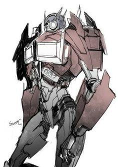 Optimus stop...POSING DAMMIT