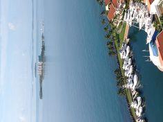 View of La Marina Village at El Conquistador Resort, Fajardo, Puerto Rico Places To Travel, Places To Visit, Marina Village, Puerto Rico Food, Fajardo, Future Travel, Archipelago, Beautiful Islands, Key West