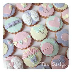 Anneler günü kurabiyeleri