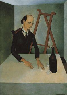 Gustave van de Woestyne (Belgian, 1881-1947) - Tentation, 1925