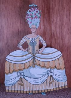 Make and find Marie Antoinette paper dolls  http://www.squidoo.com/marie-antoinette-paper-dolls