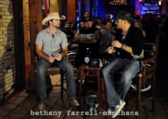 Texas Country Artist Cameran Nelson & I talk during the filming of Episode 3 Season 1 of The Bling Johnson Show