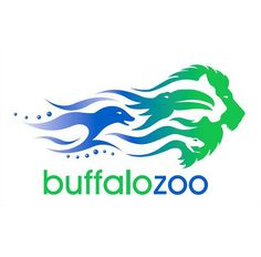 Buffalo Zoo -  what an amazing logo. Full of motion and excitement.  Buffalo Zoo = Astonishment