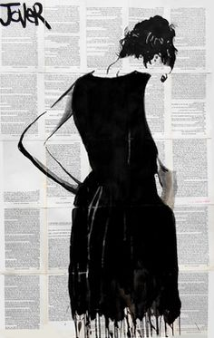 "Saatchi Online Artist Loui Jover; Drawing, ""the bee keepers wife"" #art"