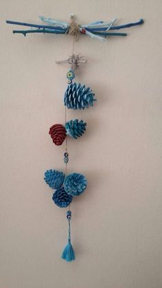 Cones of Marmaris - Dreams Summer Vacation Diy And Crafts, Crafts For Kids, Arts And Crafts, Christmas Crafts, Christmas Decorations, Diy Y Manualidades, Navidad Diy, Pine Cone Crafts, Diy Weihnachten