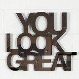 """Jade Rude, """"You Look Great"""" (Bronze)"""