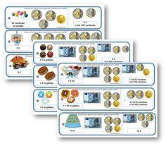 Atelier : le magasin des gourmandises CE1 la monnaie Plus