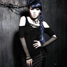 GOTICA - Magazin rock haine, bocanci și accesorii Black Skulls, Goth, Women, Style, Fashion, Gothic, Swag, Moda, Fashion Styles